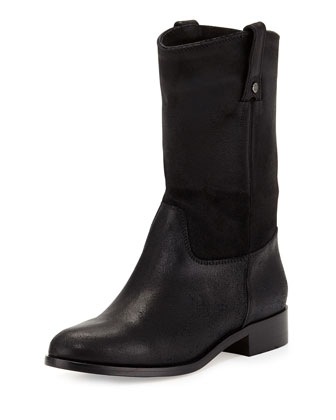 Hudson Leather Short Boot