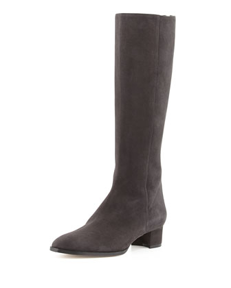 Prudaccia Suede Tall Boot, Gray