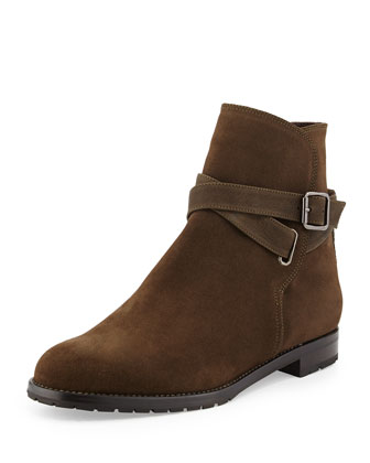 Sulgamba Suede Ankle Boot, Earth