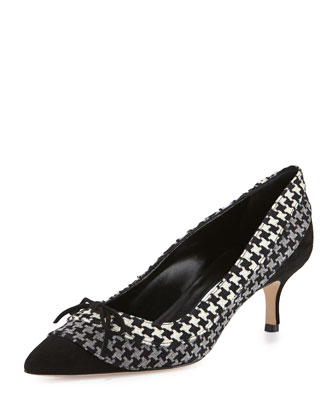 Sfida Houndstooth Bow Pump