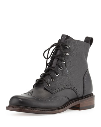 Cozen Wingtip Lace-Up Boot