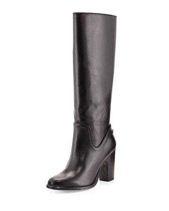 Lilford Leather Knee Boot