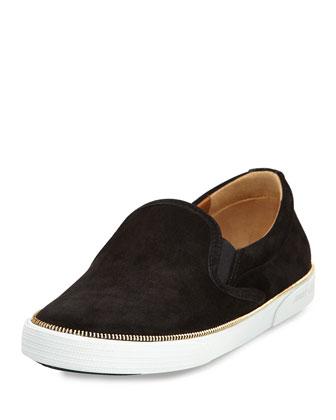 Demi Slip-On Skate Sneaker, Black