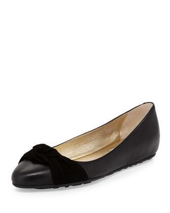 Warp Napa Ballerina Flat, Black