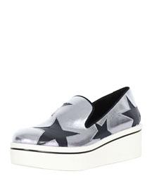 Star Cutout Sneaker Loafer
