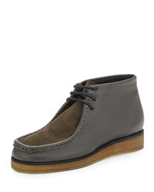 Leather & Suede Wallabee