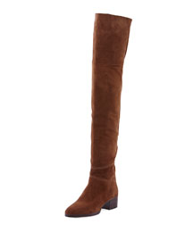 Grace Over-The-Knee Suede Boot