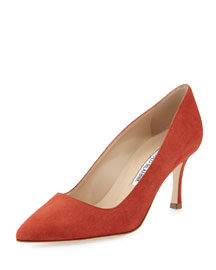 BB Suede 70mm Point-Toe Pump
