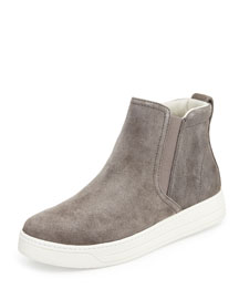 Suede High-Top Skate Sneaker