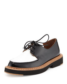 Franklin Two-Tone Box Leather Oxford