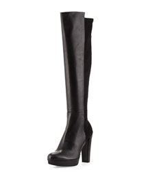 Nudemiswoon Platform Knee Boot