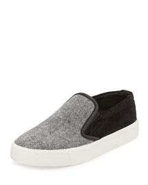 Banler Felt & Suede Skate Shoe