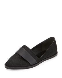 Mason Calf Hair Flat Loafer