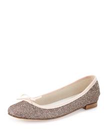 Cendrillon Glittered Ballerina Flat, Multi