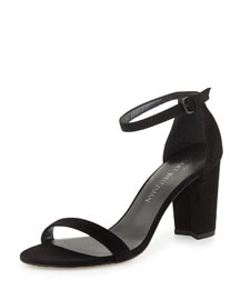 Simple Suede d'Orsay Sandal