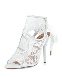 Sexy Thing Bridal 105mm Pump, White