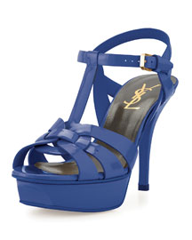 Tribute Patent Leather 105mm Sandal