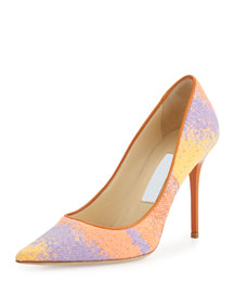 Abel Woven Multicolor Pump, Spice Mix