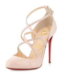 Soustelissimo Strappy Red Sole Pump, Ballerina