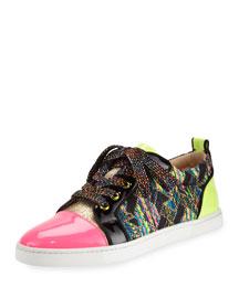 Gondoliere Woven Low-Top Sneaker, Multi