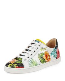 Seava Hawaii Low-Top Sneaker, Floral