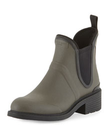 Dartford Rubber Chelsea Boot, Gray