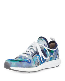 CC Sonic Mesh Sneaker, Dark Blue/White