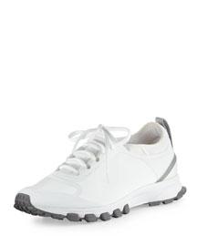 Adizero XT Colorblock Sneaker, White