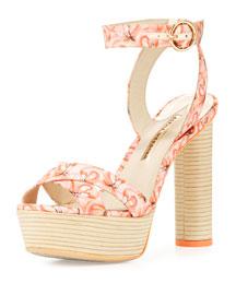 Amanda Dreamy Flamingo Sandal, Pink