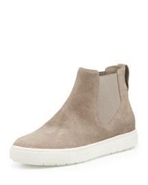 Newlyn Napa Leather High-Top Sneaker