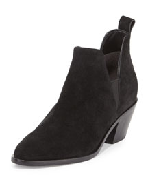 Belin Suede Ankle Boot
