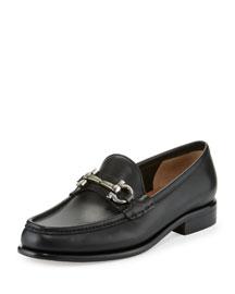 Mason 3 Gancio Bit-Strap Loafer, Black (Nero)