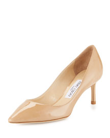 Romy Patent Leather 60mm Pump