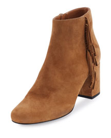 Babies Fringed Suede Ankle Boot