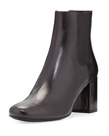 Babies Leather Chelsea Boot, Black (Noir)