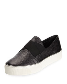 Flat Flex Slip-On Sneaker, Black