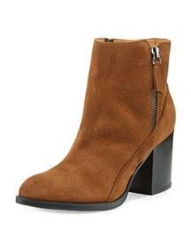 Rea Side-Zip Ankle Boot