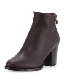 Method Grained Leather Ankle Boot