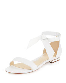 Clarita Flat Suede Sandal