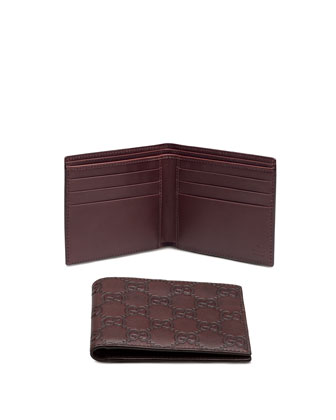 Bi-Fold Wallet, Chocolate
