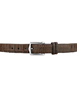 W.Kleinberg Hornback Alligator Belt