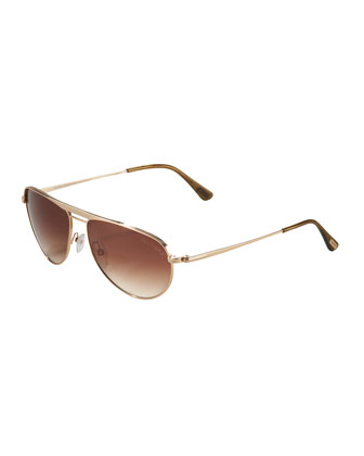 William Mirror Aviators, Rose Golden
