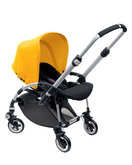 Bugaboo Bee Stroller Base & Sun Canopy, Yellow