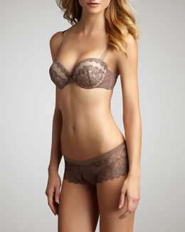 Wacoal Captivation Push-Up Bra & Hipster Briefs