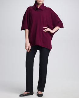 eskandar Cashmere Angel-Sleeve Sweater & Narrow Trousers