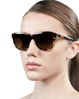 Oliver Peoples Reigh Semi-Round Sunglasses