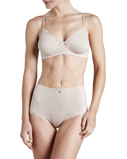 Hanro Valerie Soft Bra & Lace-Trim Briefs