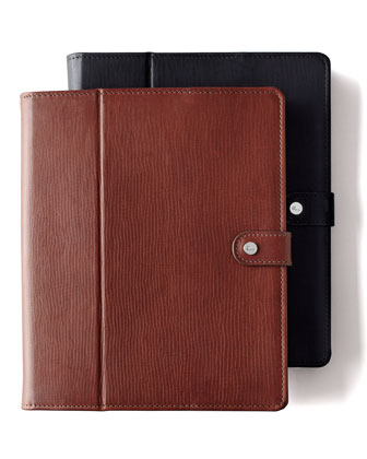 Vachetta iPad Case, Plain