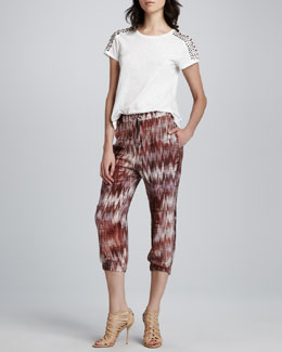 Elizabeth and James Monique T-Shirt & Ruben Cropped Pants