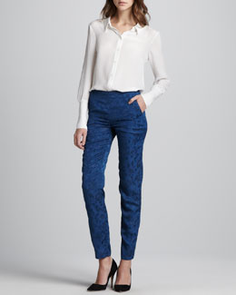 Theyskens' Theory Bamga Button-Down Shirt & Perfit Skinny Trousers
